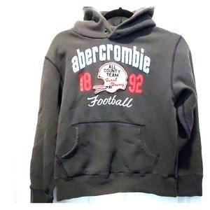 Abercrombie & Fitch thick hoodie. Boys sz L